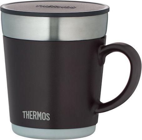 【保温マグカップ】デスクワークの人にオススメな蓋付きマグカップ
