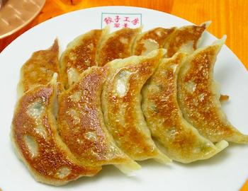 翠葉(すいよう)の焼き餃子